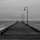 Port Melbourne pier by Adrian Cusmano