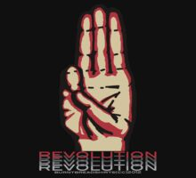 JOIN THE REVOLUTION: FAREWELL by burntbreadshirt