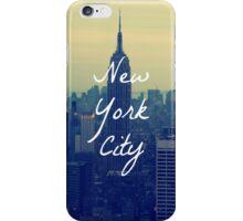 Empire State Circular iPhone Case/Skin