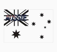 Aussie Black -  Australian Flag Design by Craig Stronner