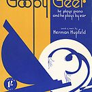 GOOPY GEER (vintage illustration) by ART INSPIRED BY MUSIC