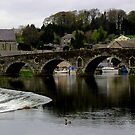 Graiguenamanagh - Bridge Over The Barrow River by rsangsterkelly