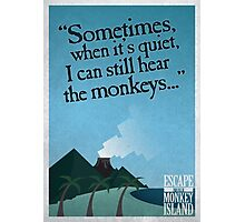 I can still hear the monkeys - Poster Photographic Print