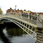 Dublin - End of Ha'Penny Bridge by rsangsterkelly