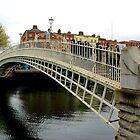 Dublin - End of Ha'Penny Bridge by rsangsterkelly