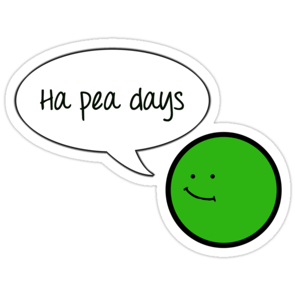 Ha Pea Days by gemzi-ox