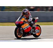 casey stoner in Jerez 2012 Photographic Print