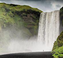 Crazy views of Iceland, Skogafoss. by Cappelletti Benjamin