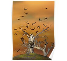 Pesky Birds Poster