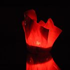 Red candle by Majameath