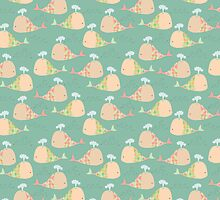 Whale Pattern by Pip Gerard