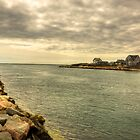 Breachway at Galilee Rhode Island by John  Kapusta