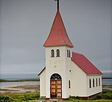 Crazy views of Iceland, Prestbakki. by Cappelletti Benjamin
