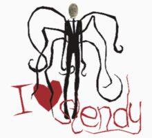 I love Slendy by klec