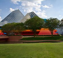 Pyramids and Primary Colors by Peyton Duncan