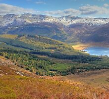Snow Topped Fells by seanduffy