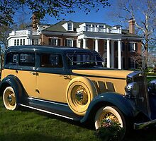 1933 Hupmobile Model K321 Sedan by TeeMack