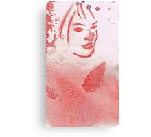 """EAU DE TOILETTE  """"Cool Water Woman"""" Canvas Print"""