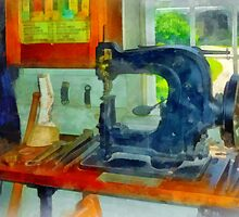 Sewing Machine in Harness Room by Susan Savad