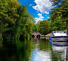bishop's bridge and a boat by meirionmatthias