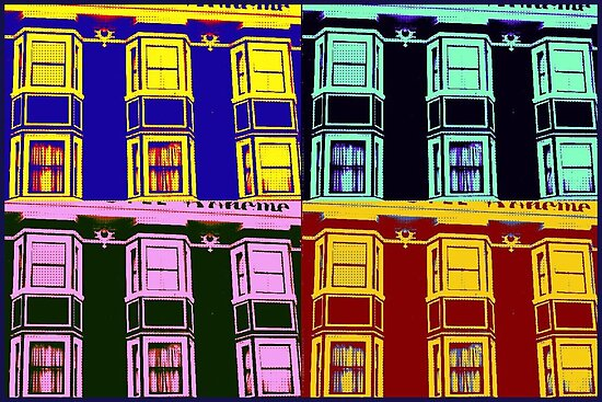 Hotel La Boheme (Pop Art) by RobynLee