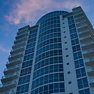 Pink Clouds Condo Tower South Beach Florida by Henry Plumley