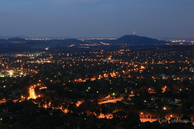 Night falls over the Nation's Capital by Tim Coleman