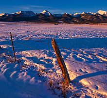 Winter Valley Sangres by Paul Gana