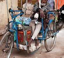 Pedicycle Man by phil decocco
