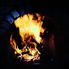 Dark Fireplace (Edited) by MitchConway101