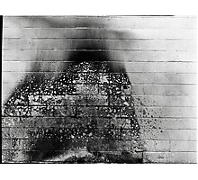 Smoke and bricks Photographic Print