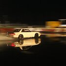 Nissan Silvia S13 , skidpan  by Josh McRae