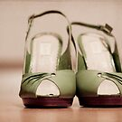 Silly Green Shoes by Hege Nolan