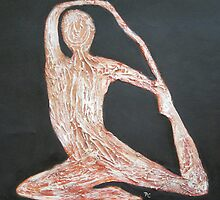 Yoga Series, Lotus  by zooberhood
