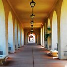 Archways at Balboa Park by Jennifer Hulbert-Hortman