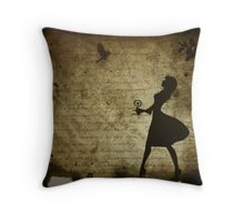 I'm not in love........... Throw Pillow