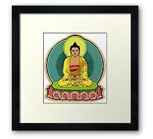 BUDDHA BLESSINGS Framed Print