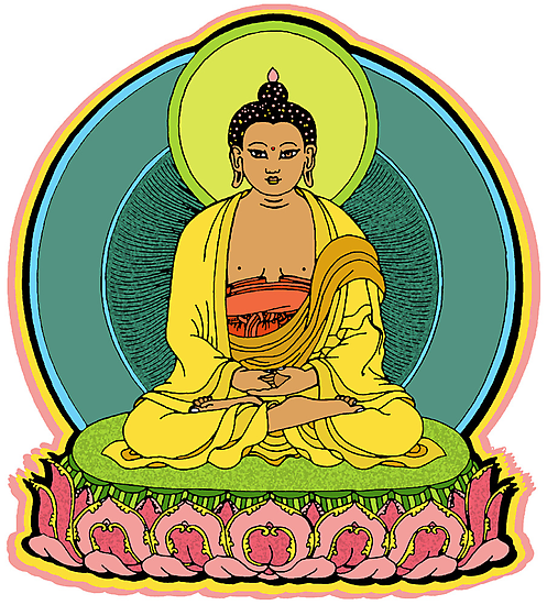 BUDDHA BLESSINGS by SOL  SKETCHES™