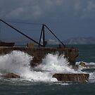 Crashing wave by Doug McRae