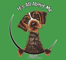 Its All About Me :: Wirehaired Pointing Griffon by offleashart
