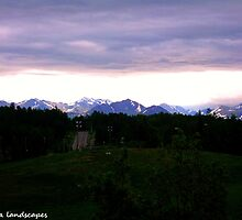 Dusk in Anchorage by Erika Price