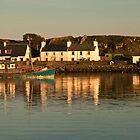 Islay: Port Ellen Harbour Dusk by Kasia-D