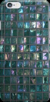 Shiny Mosaic Tiles - JUSTART © by JUSTART