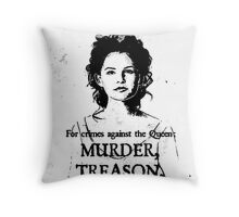 Wanted - Snow White Throw Pillow