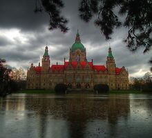 "Hanover's ""New Townhall"" by herbspics"