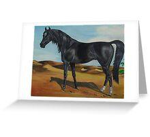 The Black Stallion Greeting Card