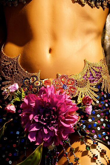 BRASIL TO NY-(add'l images)  Torso of Samba Dancer by Sassafras