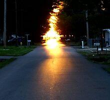 Fifth Street On Fire by WildestArt