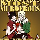 WANTED: Wonderland's Most Murderous by IggyMarauder