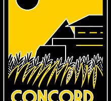 Concord Dawn Art Deco by Karlika